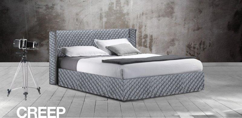 Κρεβάτι Ντυμένο Creep