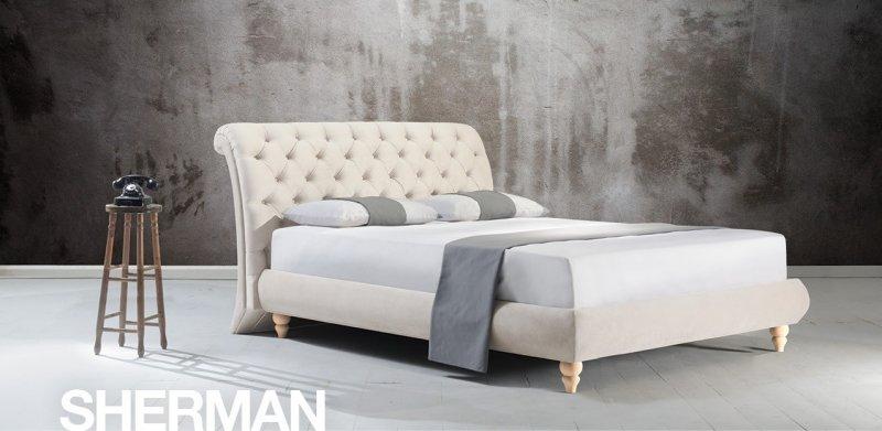 Κρεβάτι Ντυμένο Sherman