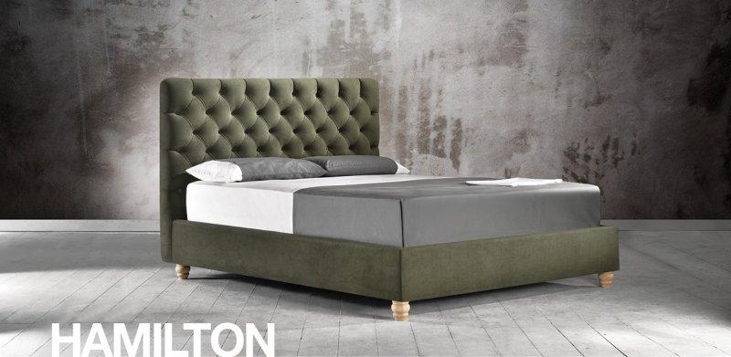 Κρεβάτι Ντυμένο Hamilton
