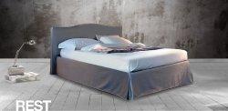 Κρεβάτι Ντυμένο Rest